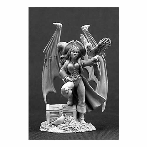 RPR01420 Pirate Sophie Miniature 25mm Heroic Scale Special Edition Figures Reaper - Special Miniature