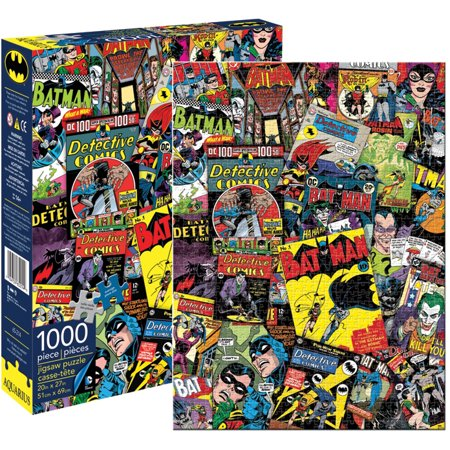 DC Comics Batman Collage Jigsaw Puzzle,