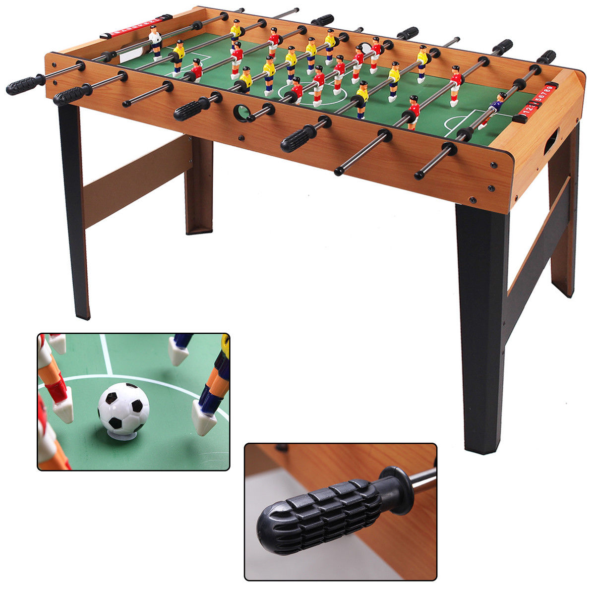 Costway 45'' Foosball Table Arcade Game Christmas Gift Soccer For Kids Indooor Outdoor by Costway
