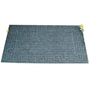 Homebasix 06ABSHE-02-3L Floor Mat Recycled Rubber, 18 By 30 In.