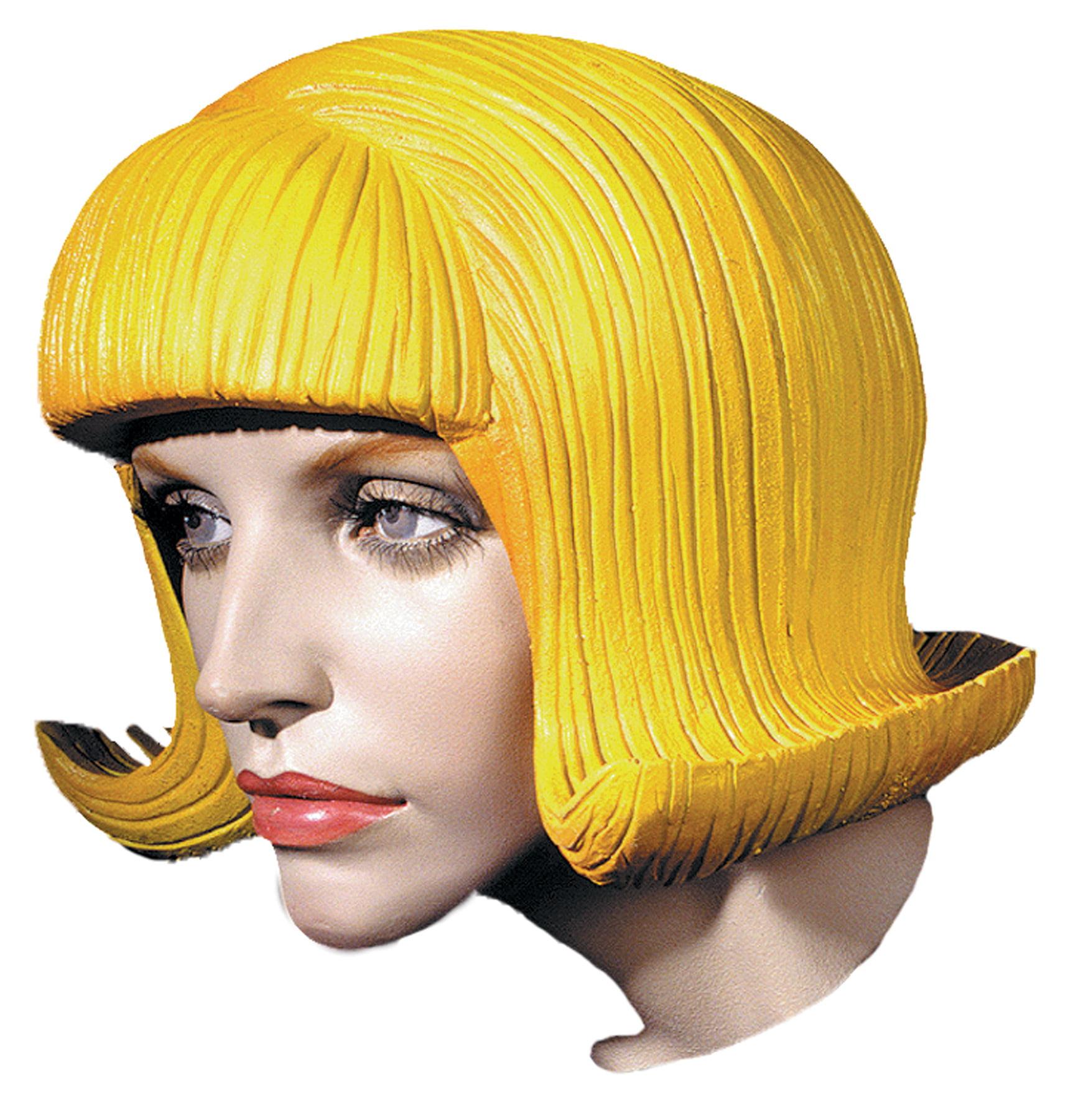 Flip Latex Rubber Wig Halloween Accessory