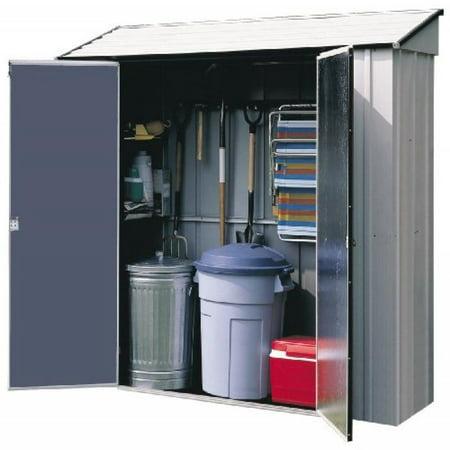 Arrow Sheds CL72 7-Feet by 2-Feet Steel Storage (Steel Storage Building Metal)