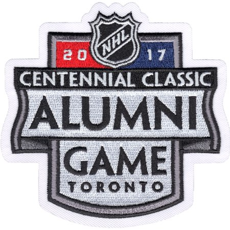 2017 NHL Centennial Classic Alumni Jersey Patch Toronto Maple Leafs vs Detroit Red