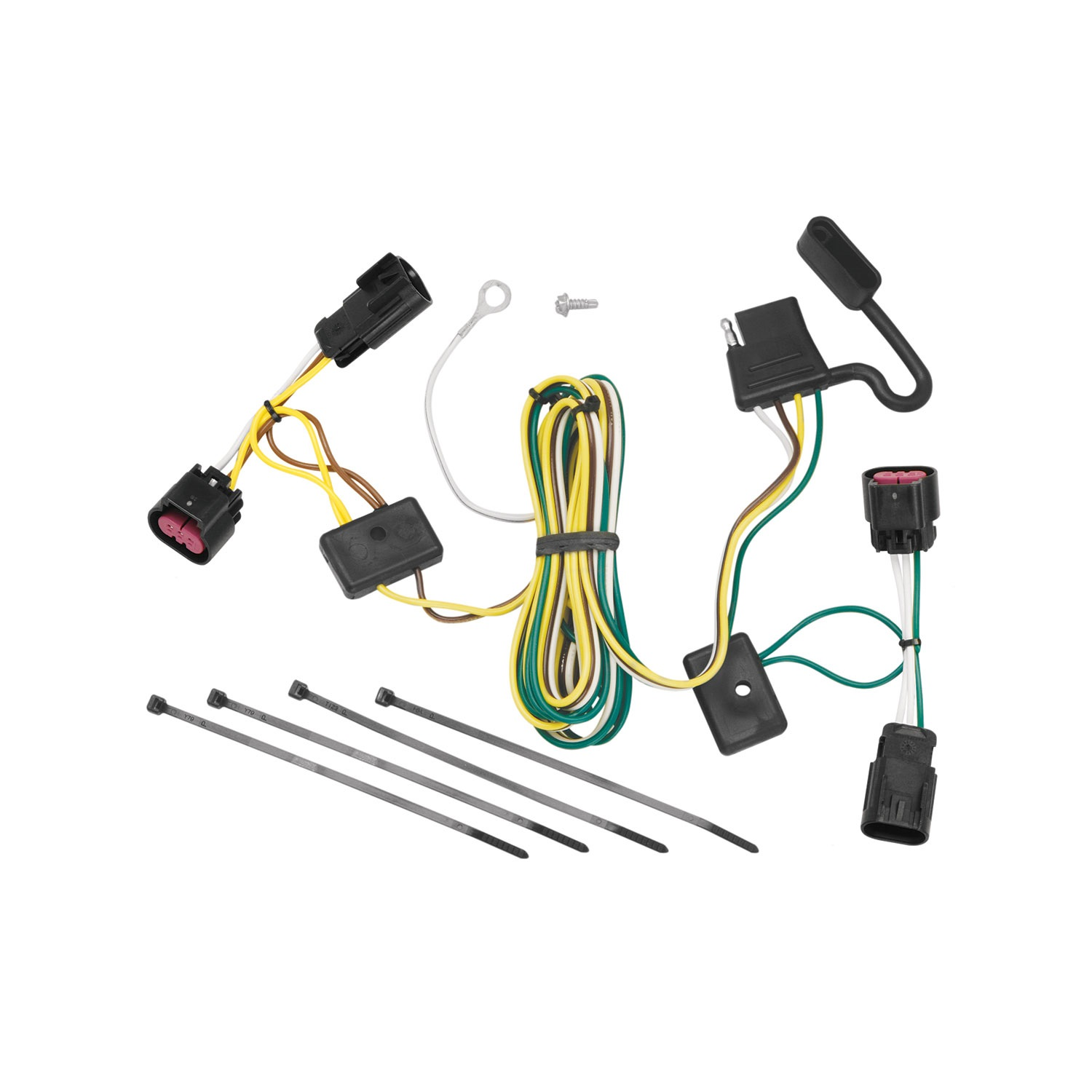 T Connector Trailer Wiring Harness Walmart For Curt Tconnector Nissan Vehicle To 118452 07 08