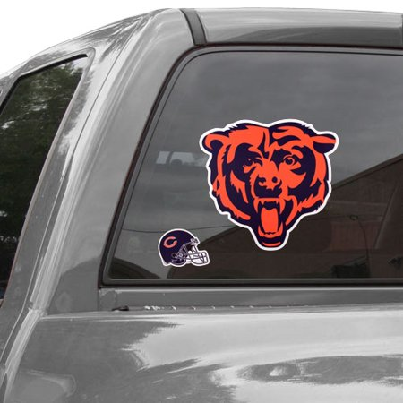 Chicago Bears Repositionable Logo Decal Set - No Size (Chicago Decal Set)