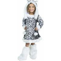 Snow Leopard Child Halloween Costume