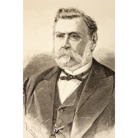 Antnio Rodrigues Sampaio Born 1806 Died 1882 Portuguese Politician From La Ilustracion Espaola Y Americana Of 1881 Canvas Art   Ken Welsh  Design Pics  24 X 36