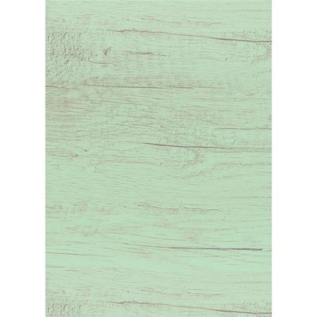 Teacher Created Resources TCR32203 4 x 12 ft. Mint Painted Wood Better Than Paper Bulletin Board Roll, 4 Count - Wood Bulletin Board Paper