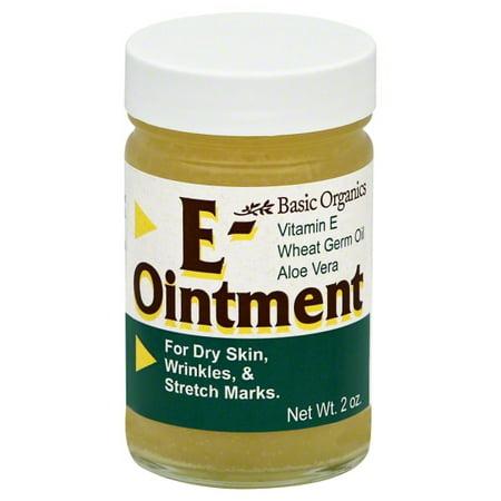 Basic Organics E-Ointment 2 oz