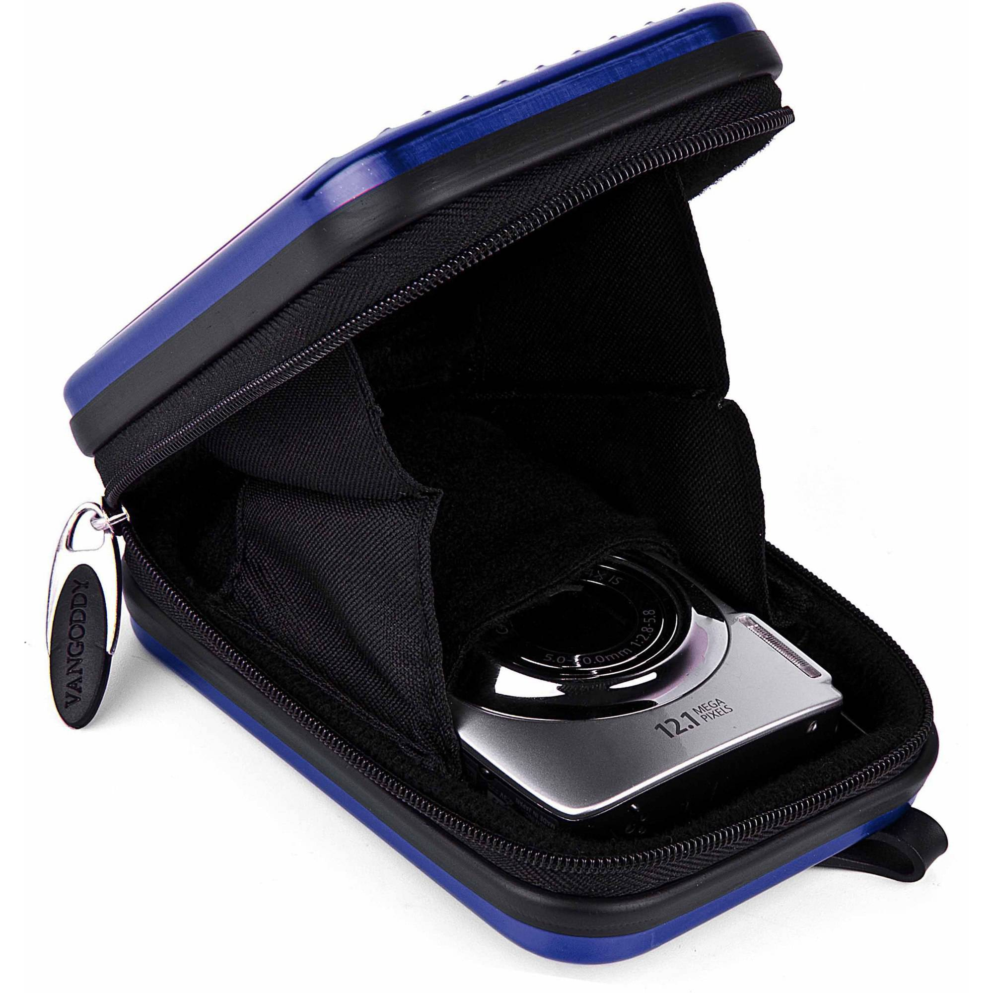"Vangoddy Pascal Metal Aluminum Camera Travel Carrying Case for 4"" x 2.5"" Compact Digital Cameras"