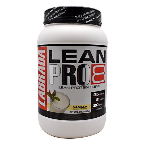 Labrada Nutrition LeanPro8 Vanilla - 2.2 lbs (1000 g)