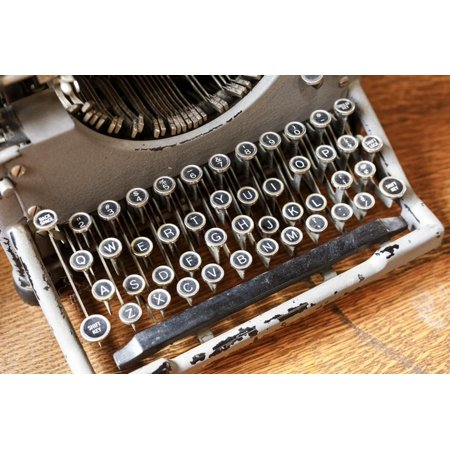 Vintage typewriter in a consignment store in Santa Fe, New Mexico. Print Wall Art By Julien (Outlet Stores Santa Fe)
