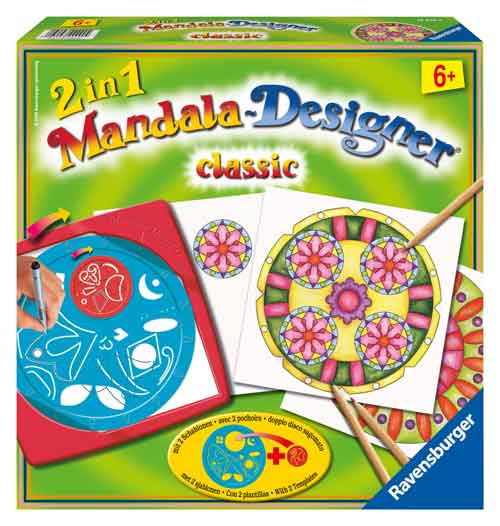 Ravensburger 2-in-1 Mandala-Designer - Classic Multi-Colored