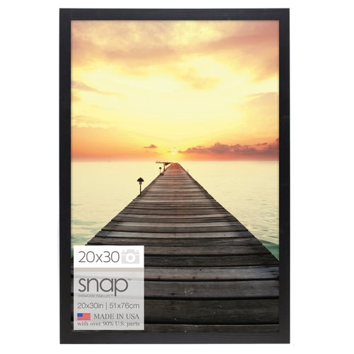 Snap Black Gallery Square Poster Frame