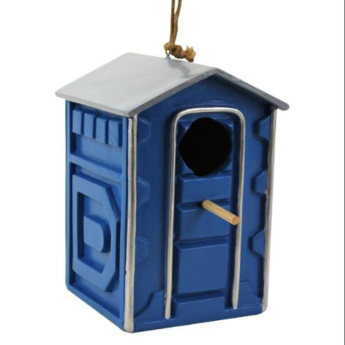 Portable Potty Birdhouse Feeder