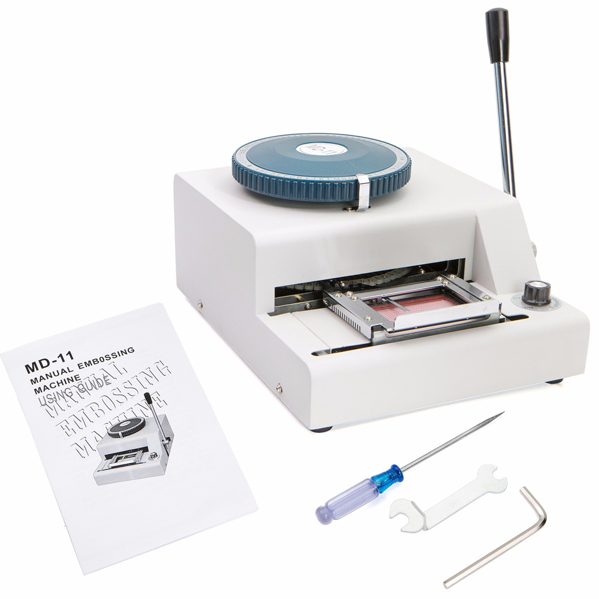 70 Character PVC Card Embosser Stamping Machine