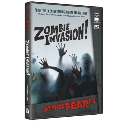 AtmosFearFX Digital Decoration Halloween DVD - Atmosfearfx Shades Of Evil Halloween Digital Decorations