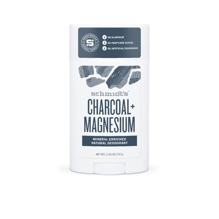 Schmidt's Deodorant for a healthy freshness Charcoal + Magnesium aluminum free 2.65