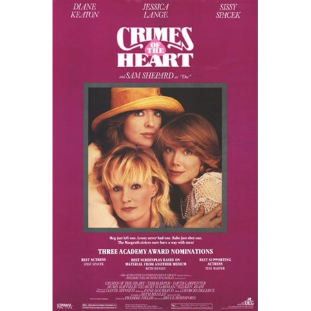Crimes of the Heart Movie Poster (11 x 17)