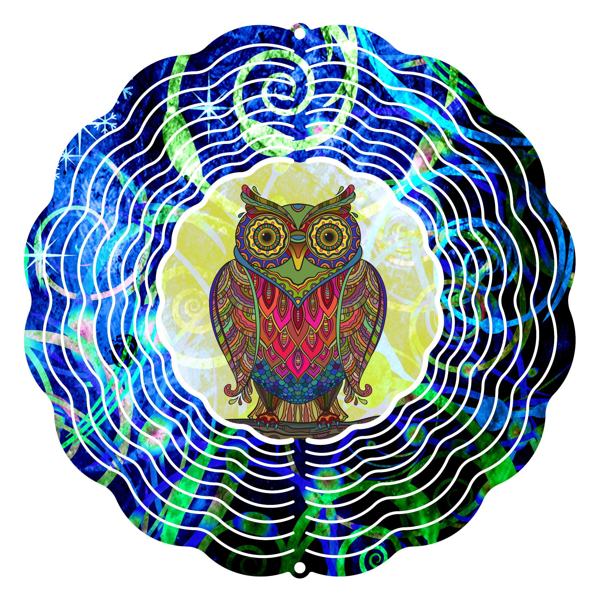 "Garden Wind Spinner Wise Mr Owl 10"" Wind Spinner by Next Innovations"