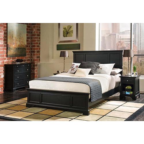 Bedroom Sets Queen bedford 3-piece bedroom set - complete queen bed, nightstand and
