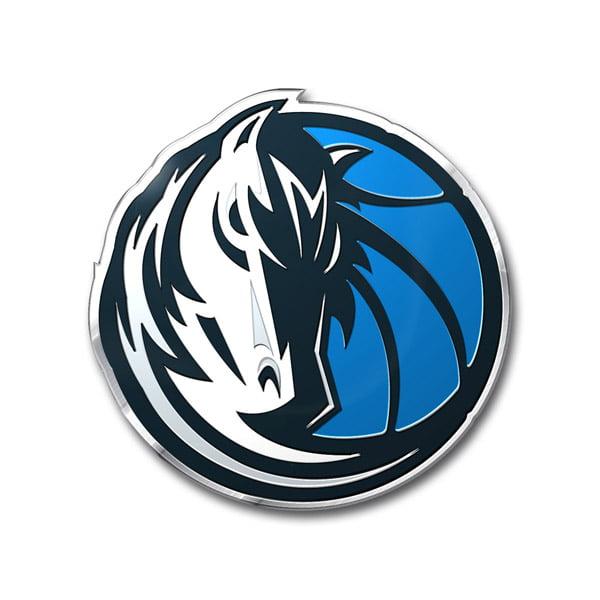 Dallas Mavericks Color Auto Emblem - Die Cut