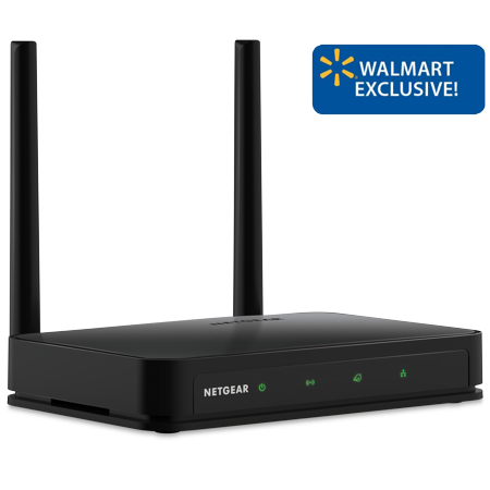 (NETGEAR AC750 Dual Band Smart WiFi Router, 5-port Fast Ethernet (R6020))