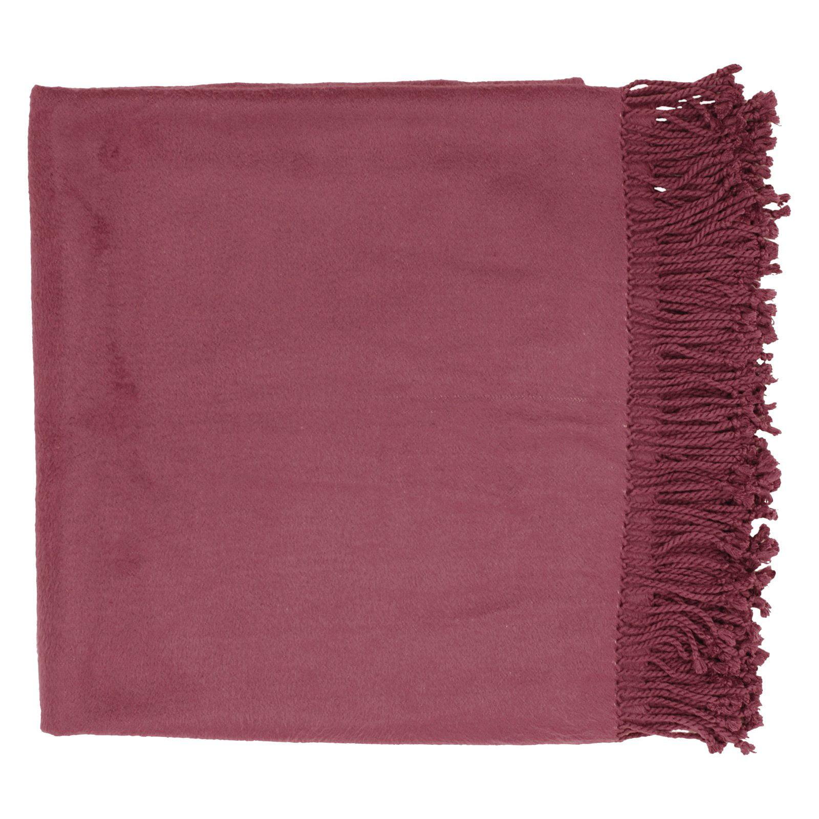 Surya Tian Tian Throw Blanket