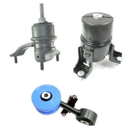 For 02-06 Toyota Camry 2.4L MK4204SD 4211 4203 Engine Motor & Torque Strut Mount Set 02 03 04 05 06 ()