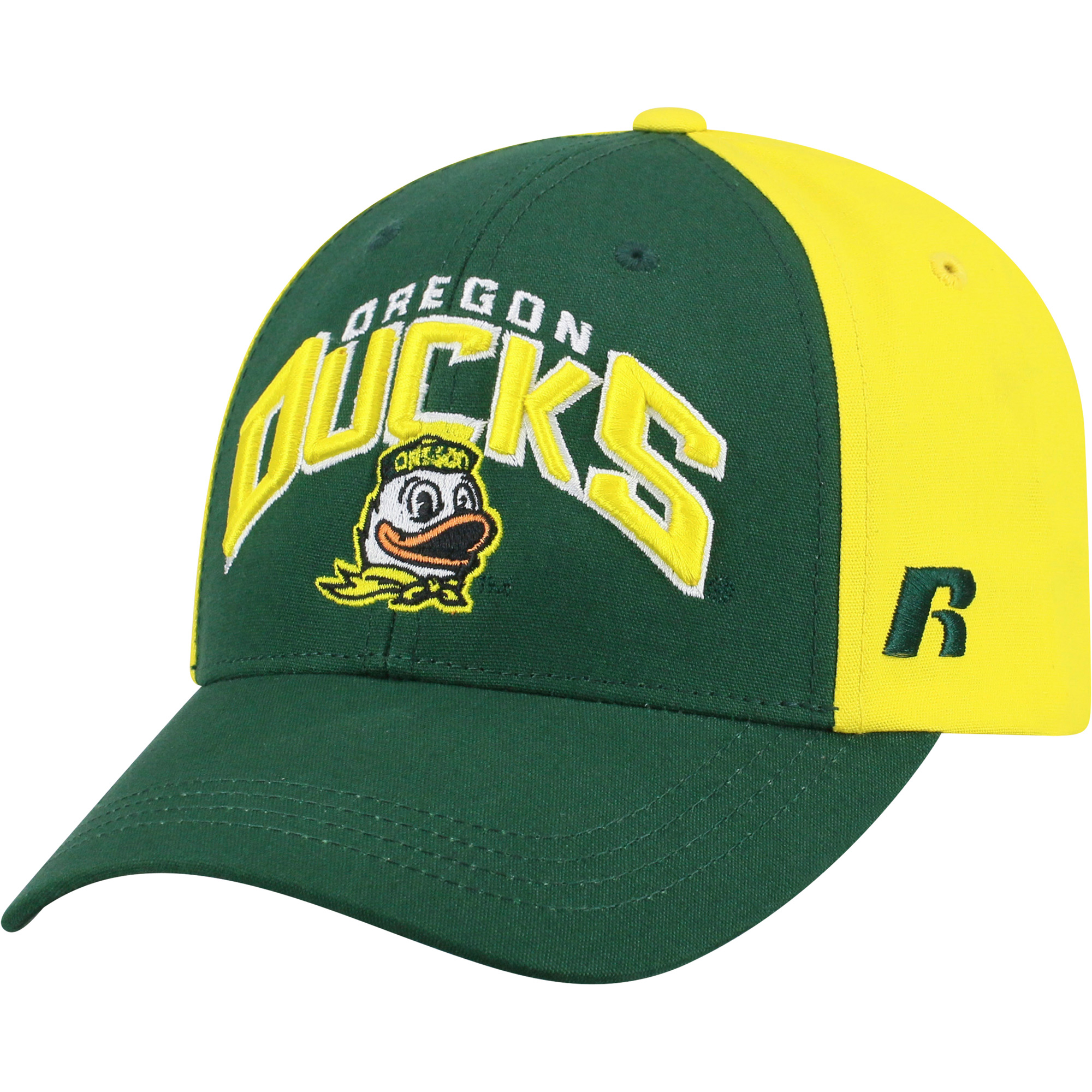 Men's Green/Yellow Oregon Ducks Tastic Adjustable Hat - OSFA