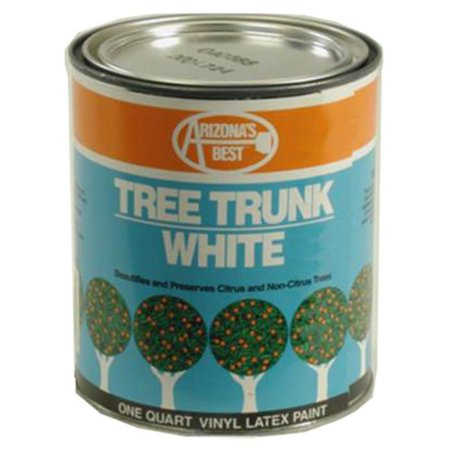 Arizonas Best AZP30011 White Tree Paint, 1 qt