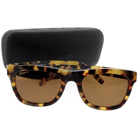 Salvatore Ferragamo SF825S 281 Tortoise Rectangle (Tortoise Sunglasses)