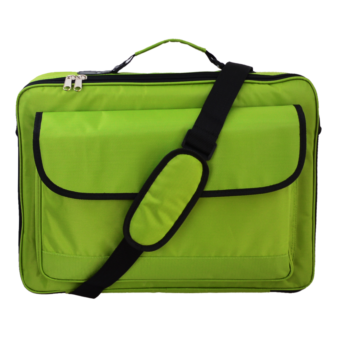 "16"" 16.4"" 15.6"" 17.3"" 17"" 18"" 18.4"" Inch Green Laptop Notebook carrying briefcase bag case"