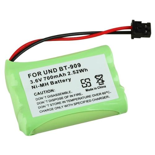 Insten Green for Uniden BT-909 BT909 Cordless Phone Battery 3.6V 700mAh