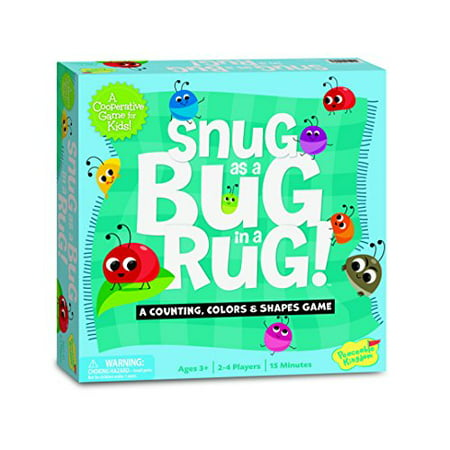 Peaceable Kingdom / Snug as a Bug in a Rug Award Winning Preschool Skills Builder Game](Preschool Halloween Games)