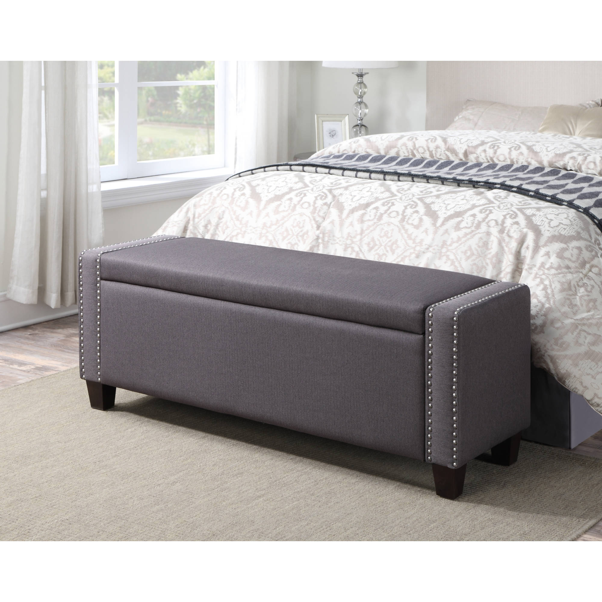 Storage Bed Bench Trespass Slate