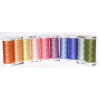 Sulky Thread Sampler 40wt Pastels Top 10