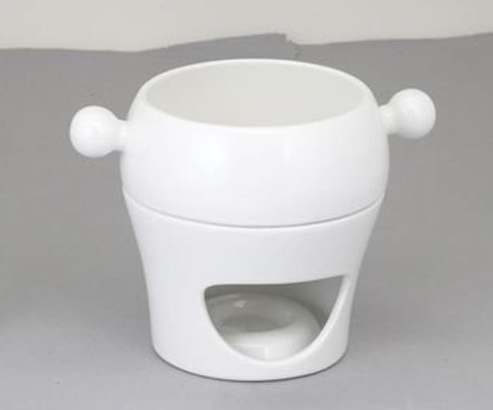 Ceramic Fondue Pot by