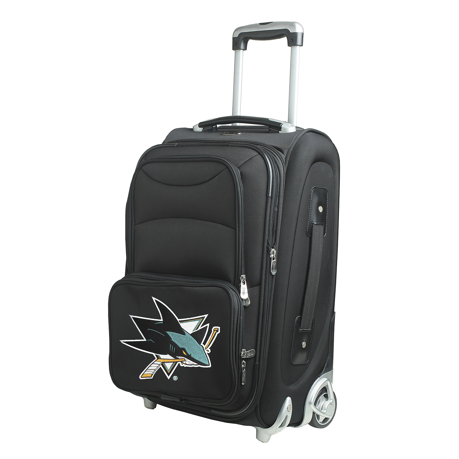 """San Jose Sharks 21"""" Rolling Carry-On Suitcase - No Size"""