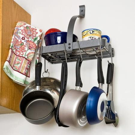 Enclume Rack it Up Accessory Shelf Pot Rack - Enclume Steel Pot Rack