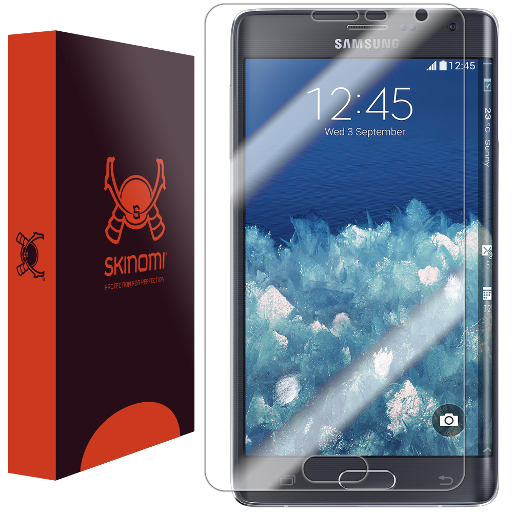 Skinomi Ultra Clear Film Screen Protector for Samsung Galaxy Note Edge