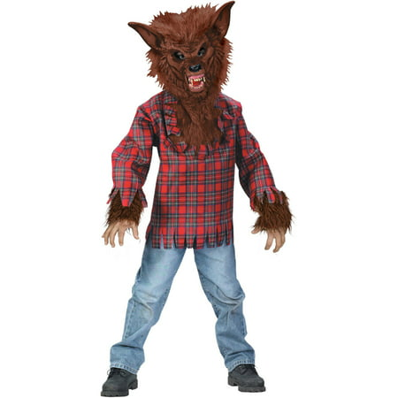 Fun World Werewolf Boys' Halloween Dress Up / Role Play Costume, M](Werewolf Skeleton)