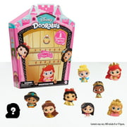 Disney Doorables Glitter and Gold Princess Collection Peek, Includes 8 Exclusive Mini Figures, Styles May Vary