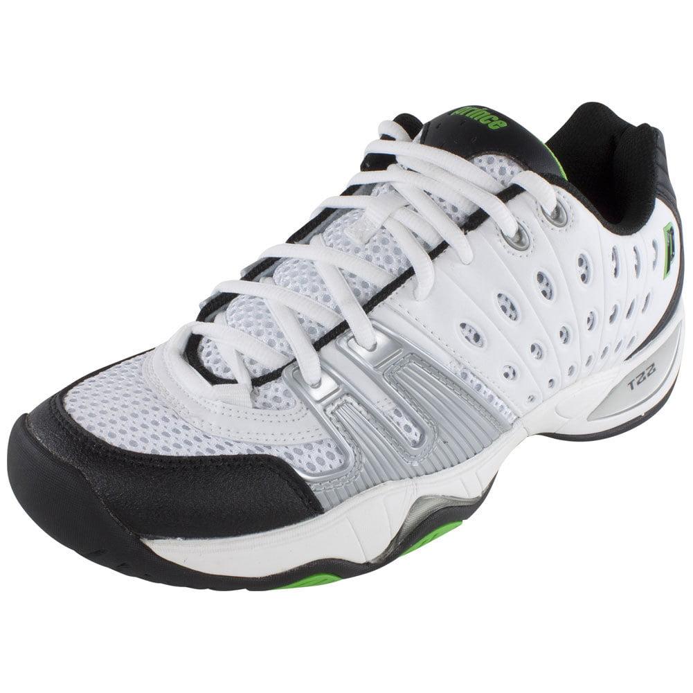 Prince T22 Men`s Tennis Shoes White/Black/Green