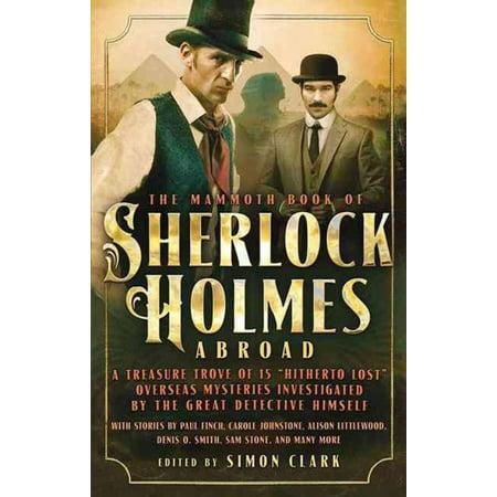 Mammoth Book of Sherlock Holmes Abroad, Simon Clark Paperback - image 1 of 1