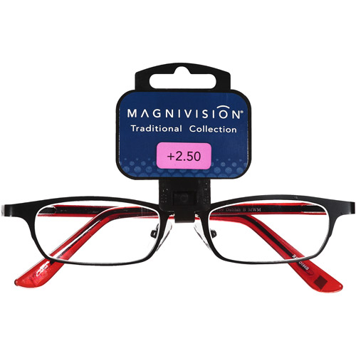 Magnivision: Traditional Collection + 2.50 Glasses, 1 Pr