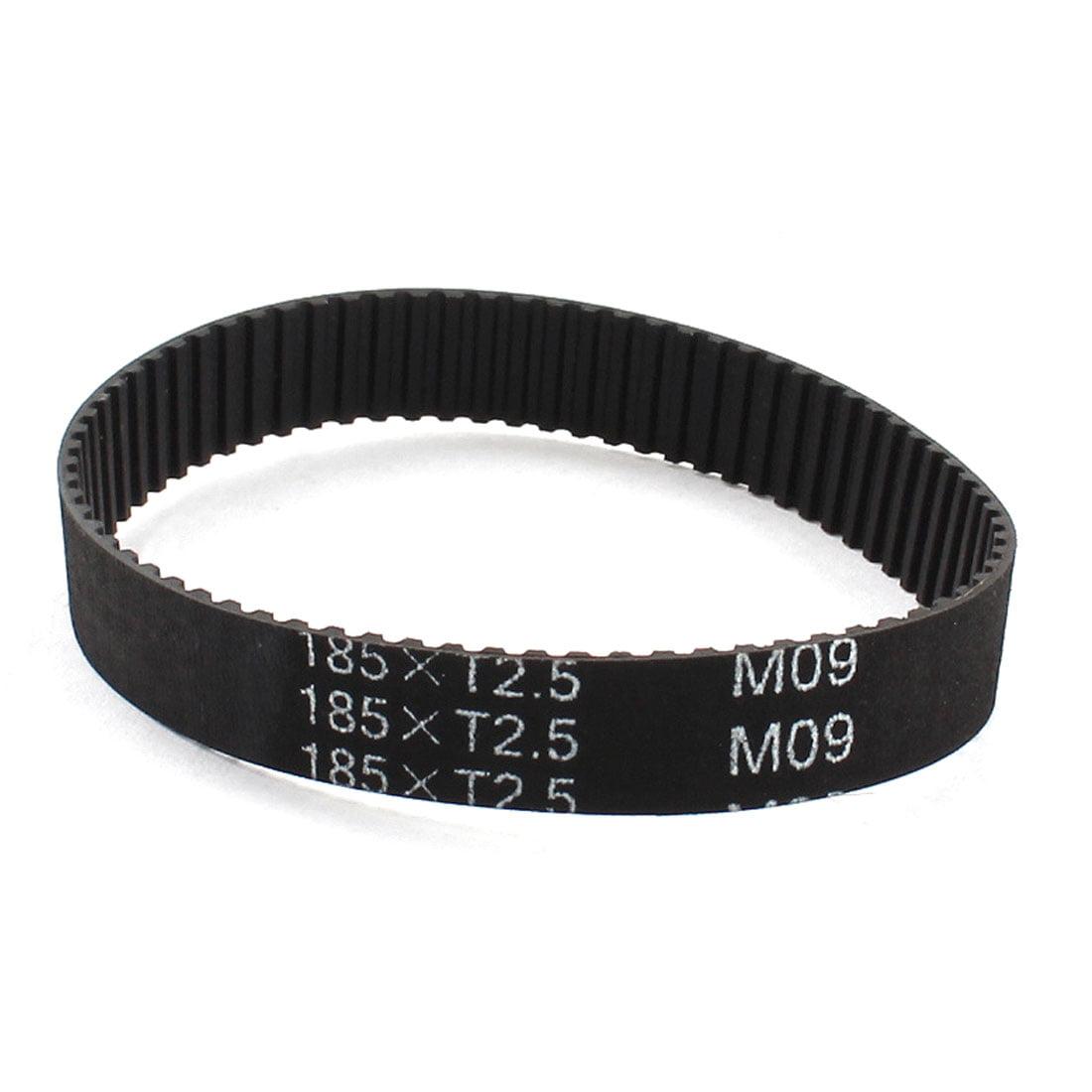 T2.5 x 185 74-tooth 2.5 mm à 10 mm Largeur Groove Imprimante 3D Courroie de distribution - image 1 de 1