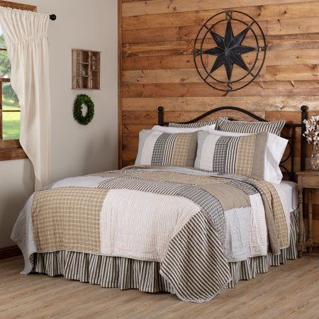 Warm Grey Farmhouse Bedding Haven Cotton Pre Washed