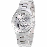Spider-Man Men's Fortaleza Watch, Silver Braclet