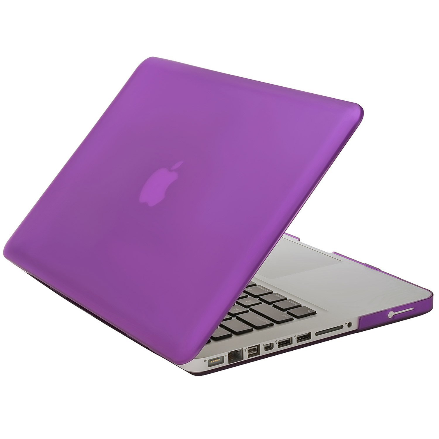 Aduro Macbook Pro 15 SoftTouch Cover with Matching Silicone Keyboard Cover (Purple)